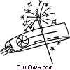 Vector Clipart illustration  of a fireworks