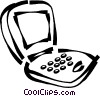 laptop/notebook computer Vector Clipart graphic