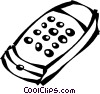 Vector Clip Art picture  of a remote control