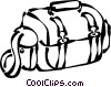 photography bag Vector Clipart illustration