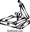 Vector Clipart graphic  of a paper cutters
