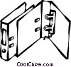 binders Vector Clip Art image