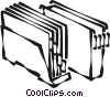 Vector Clipart graphic  of a files