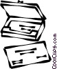 notebook computers Vector Clip Art picture