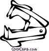 staple remover Vector Clipart picture