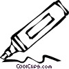 marker Vector Clipart graphic