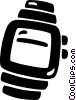 wrist watches Vector Clip Art picture