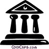 financial institution Vector Clip Art graphic
