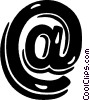 Vector Clipart image  of a e-mail symbol