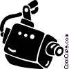 security camera Vector Clipart image