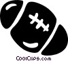 Vector Clip Art picture  of a football