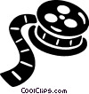 film canister Vector Clipart picture