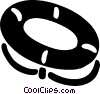 Vector Clipart picture  of a life ring