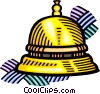 Vector Clipart picture  of a bell