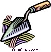 Vector Clipart graphic  of a trowel