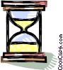 hourglass Vector Clip Art graphic