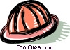 Vector Clipart picture  of a hard hat