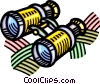 binoculars Vector Clipart illustration