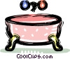 bath tub Vector Clipart graphic
