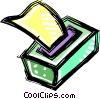 Kleenex Vector Clipart illustration