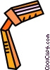 Vector Clip Art image  of a disposable razor