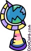 globes Vector Clipart graphic