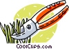 pruning shears Vector Clipart graphic