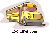 school bus Vector Clipart picture