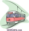 Vector Clipart illustration  of a subway