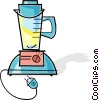 electric blender Vector Clipart picture