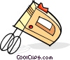 electric mixer Vector Clipart illustration