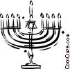 candelabra Vector Clipart picture