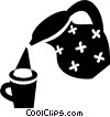 coffee pot/maker Vector Clipart illustration