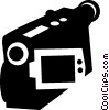video camera Vector Clip Art graphic