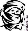 middle eastern man Vector Clipart picture