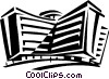 apartment building Vector Clipart picture