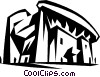 Vector Clipart picture  of a Chapel de Notre