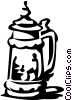 beer stein Vector Clipart illustration