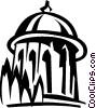 Bahai World Center, Israel Vector Clip Art picture