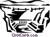Vector Clipart picture  of a Hoover dam