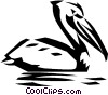 pelican Vector Clipart illustration