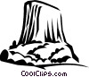 Vector Clipart image  of a mountains