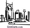 cityscape Vector Clipart graphic