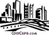 cityscape Vector Clip Art image