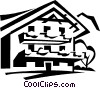 Vector Clipart picture  of a building