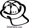 Vector Clip Art image  of a safari hat