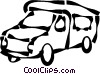 tour bus Vector Clip Art picture