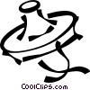 Vector Clipart illustration  of a Japanese hat