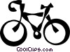 bicycle Vector Clipart illustration
