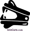 Vector Clip Art graphic  of a staple remover
